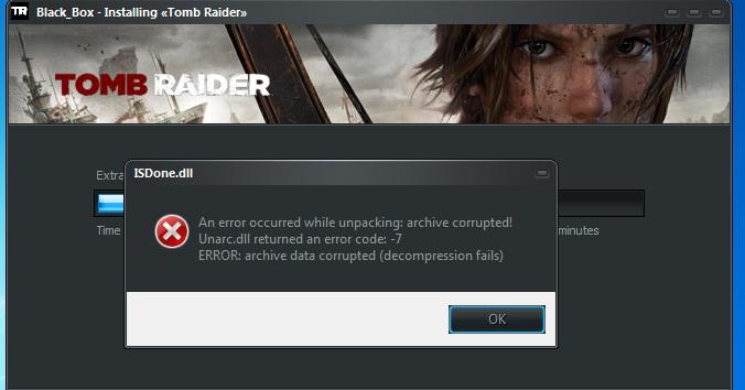 Произошла ошибка ISDone.dll при установке игры: как исправить?