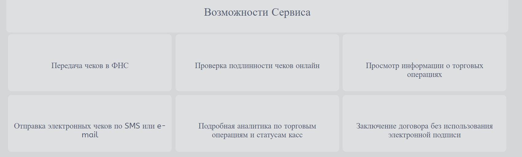 Мегафон ОФД