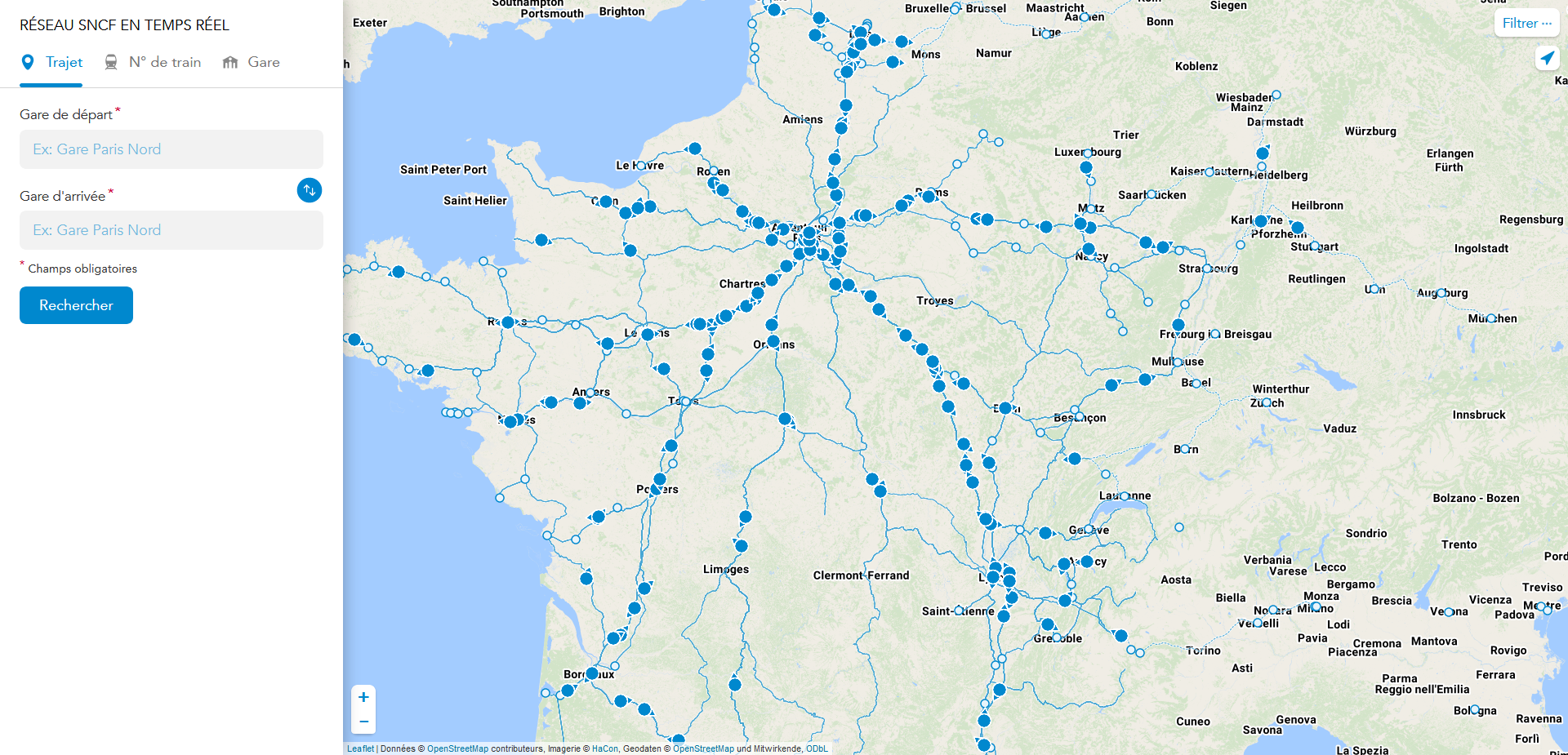 Французская железная дорога