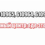 610960, 610965, 610964, 610962 Киров сортировочный центр: где это находится
